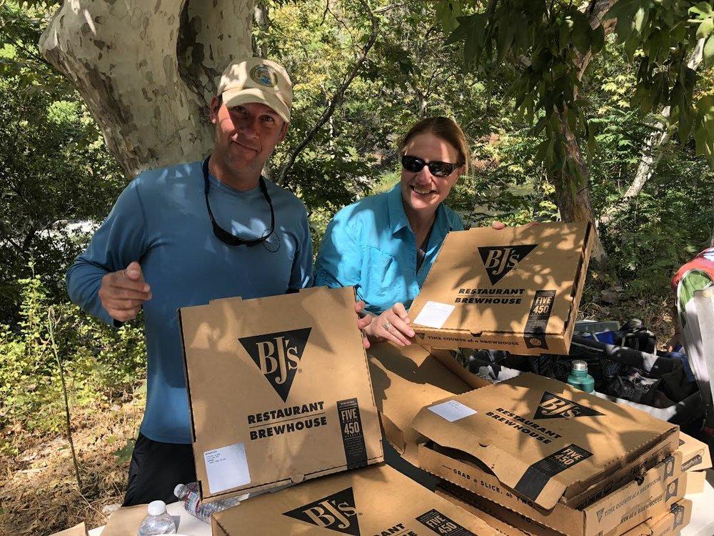 District Ranger Al Watson and Forest Supervisor Teresa Benson