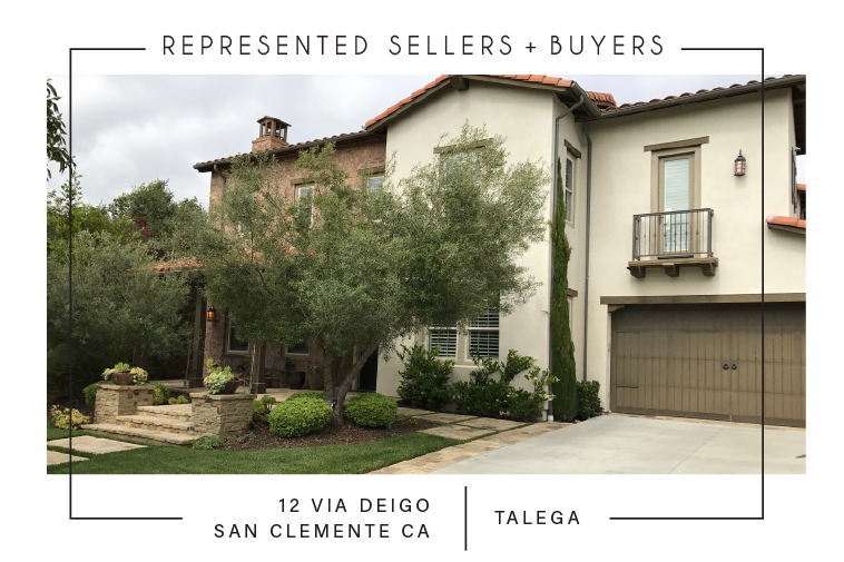 SOLD 5/25/2017    $1,830,500 12 VIA DIEGO SAN CLEMENTE CA