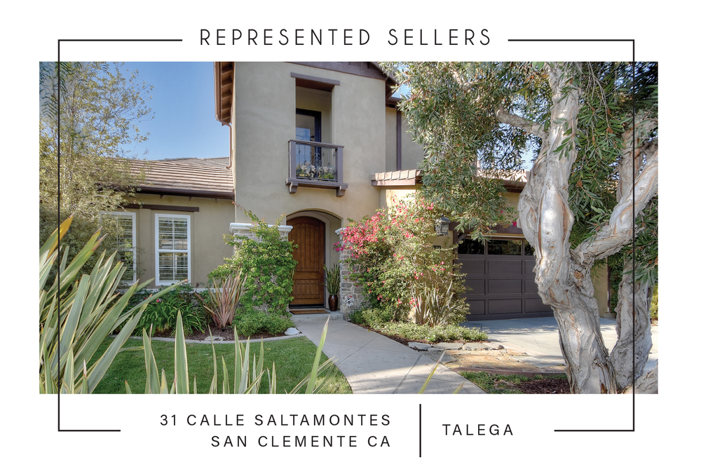 SOLD 1/2/2018    $1,030,000   31 calle saltamontes SAN CLEMENTE CA