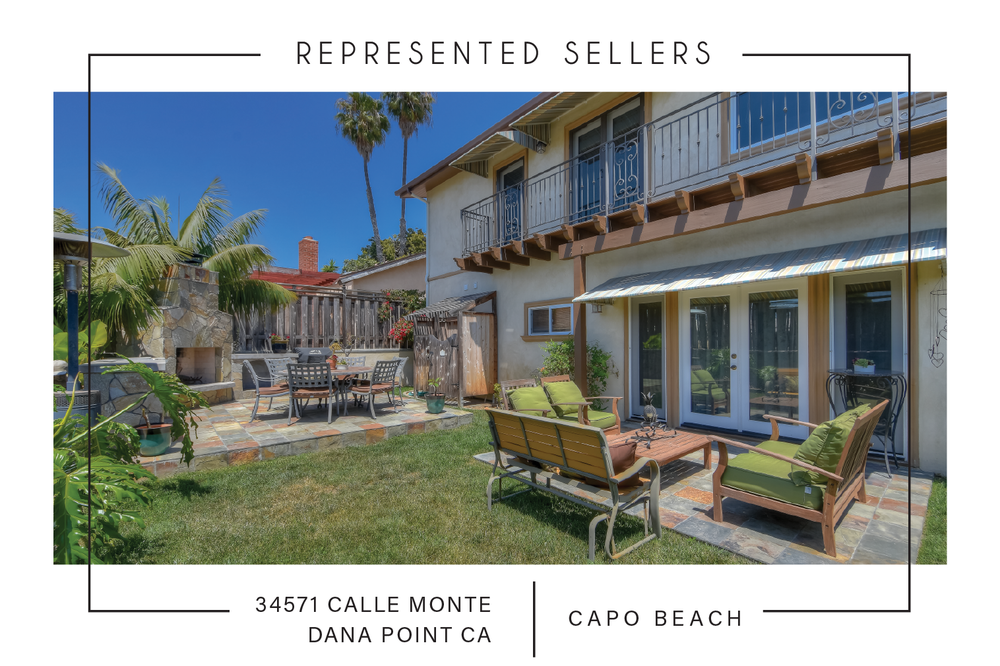 SOLD 9/12/2018    34571 calle monte, Dana Point CA