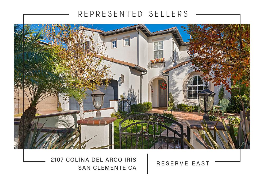 SOLD 7/31/2018  $1,065,000  2107 colina del arco iris, San clemente CA