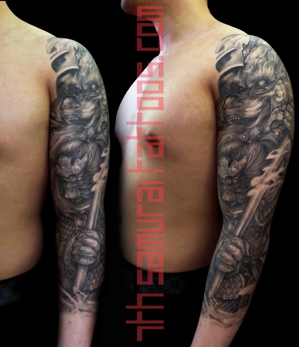 4 port monkey king dragon asian 7th samurai tattoos Kai 16april22 003 TIFF 1 levels main new 16sep8.jpg