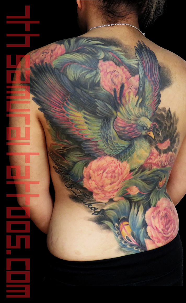 4.52 port  phoenix peony women's backpiece Kai 7th Samurai color tattoo women's TIFF 1 16sep8.jpg