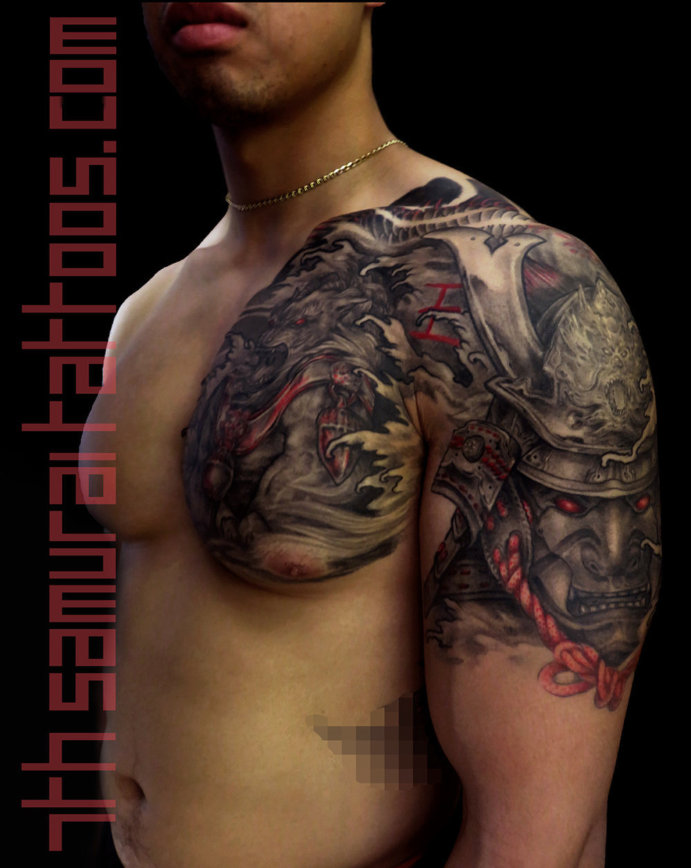 18.5 PORT brian vuong fudog samurai arowana 7th tattoos Kai men's chest 16may20 IMG_1744  TIFF1 levels more contrast 3.5 16sep9.jpg
