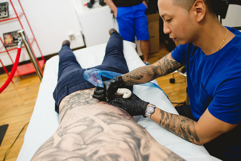 5 Kai 7th Samurai tattoos & Hennessy Scott Campbell pop up event.jpg