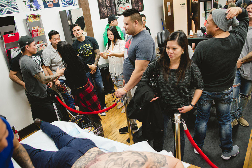 43 Kai 7th Samurai tattoos & Hennessy Scott Campbell pop up event.jpg