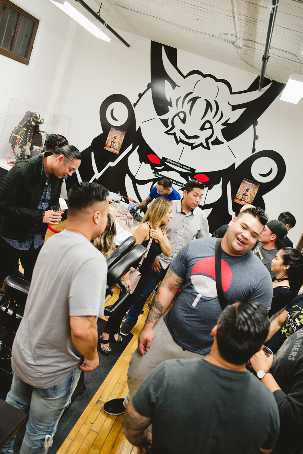 46 Kai 7th Samurai tattoos & Hennessy Scott Campbell pop up event.jpg