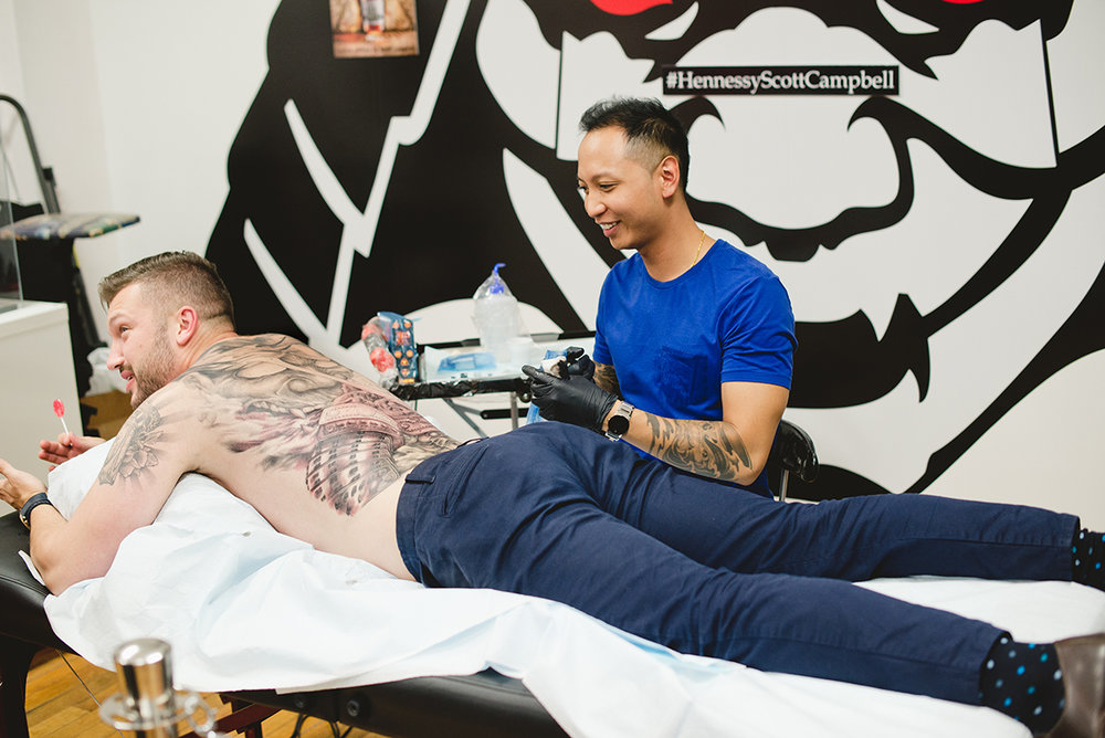 53 Kai 7th Samurai tattoos & Hennessy Scott Campbell pop up event.jpg