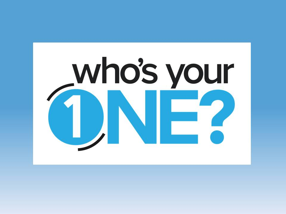 """On Sunday, March 31st we launched the church-wide initiative called """"Who's Your One?"""" during the month of April. We've been challenged to pray, seek out, and share the Gospel with at least one person. Who is your one?!"""