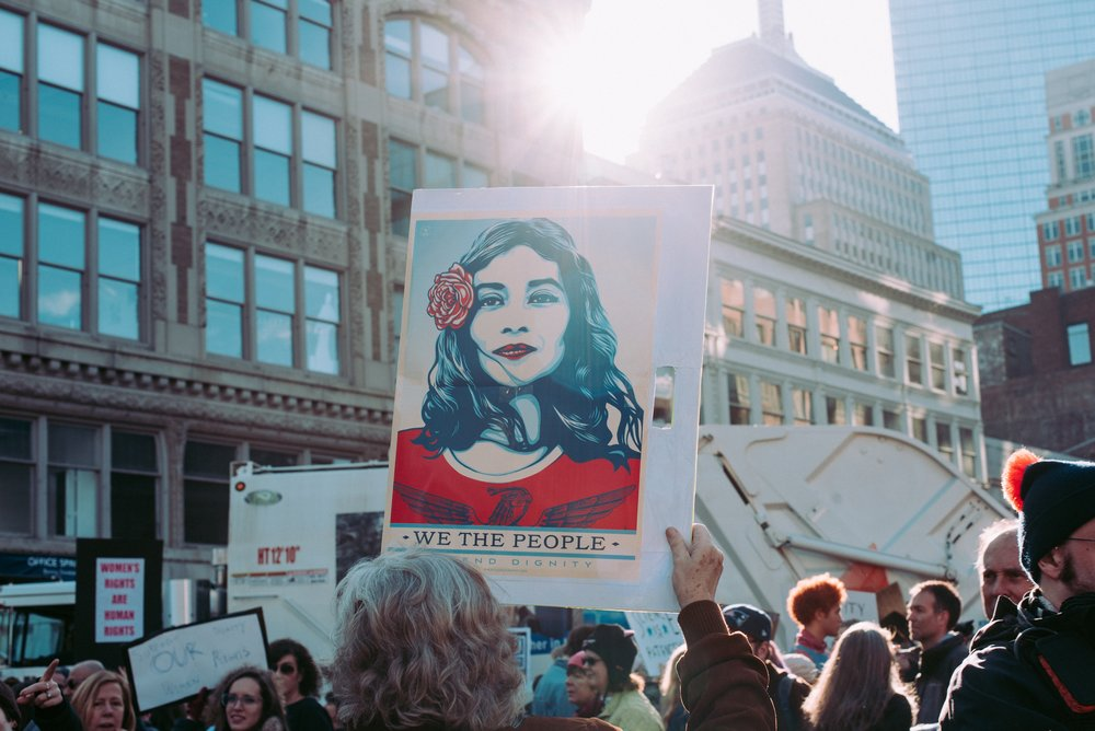 ACTIVISM-SF-WOMENS-MARCH-BLM-WE-THE-PEOPLE