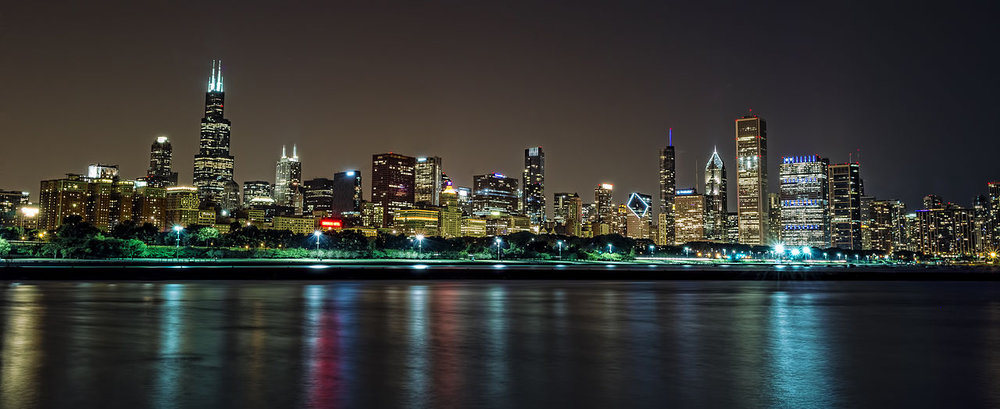 Chicago skyline/Wikimedia Commons