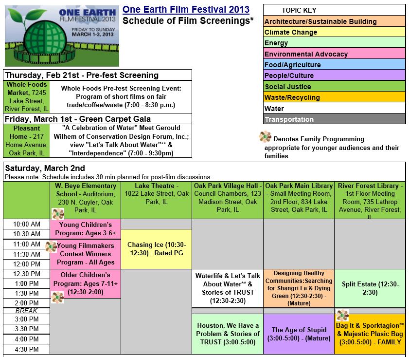Program Guide 2013.