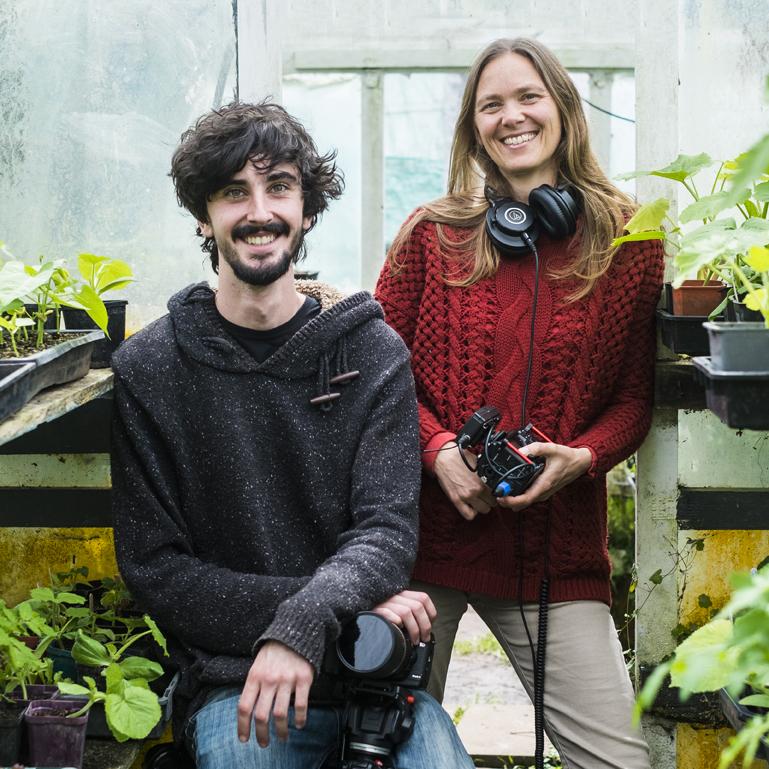 Directors  Jordan Osmond  and Antoinette Wilson. Photo by  Jason Hosking.