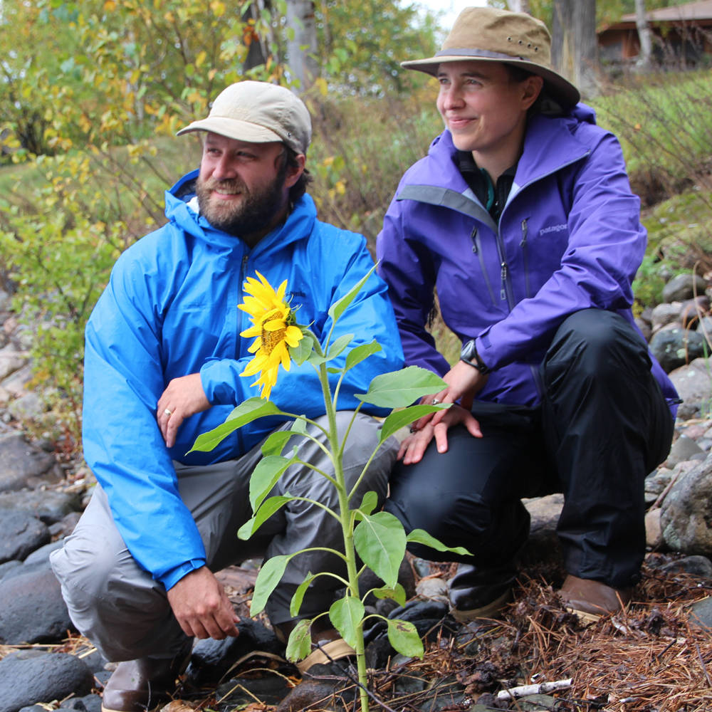"""Dave  and  Amy Freeman  of """"Bear Witness: A Year in the Boundary Waters."""""""