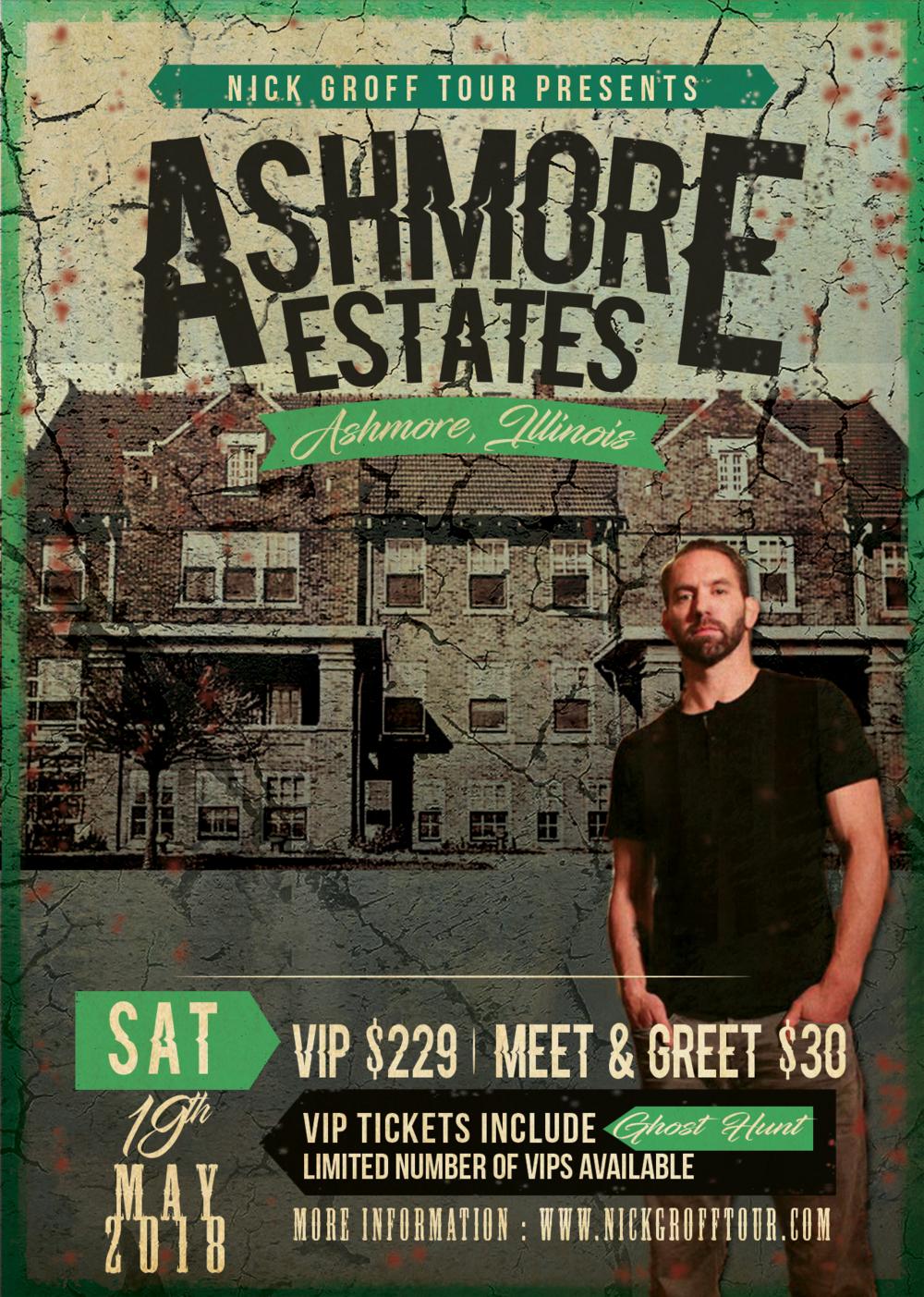 Ashmore Estates Nick Groff Tour
