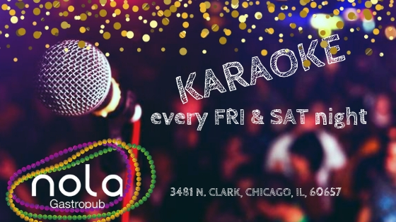 Weekend Karaoke! pick up the mic and show your voice.
