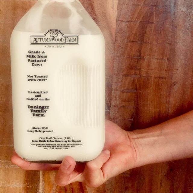 The base of our ice cream starts with cream and milk from Autumnwood Farm.  Ahh-tumnwood is what I like to refer to this gem of a farm. They are in Forrest Lake, Minn and manage their farm in a highly sustainable way including a rotational grazing system 3 seasons of the year.