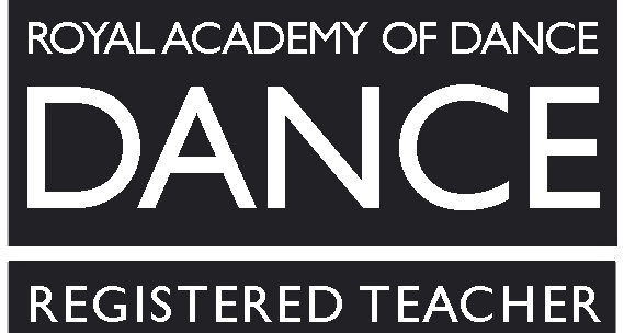 Royal academy of dance registered teacher. RAD registered teacher.