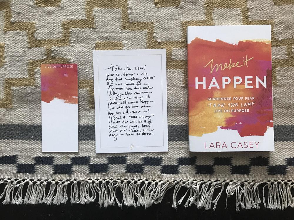 Lara Casey Giveaway