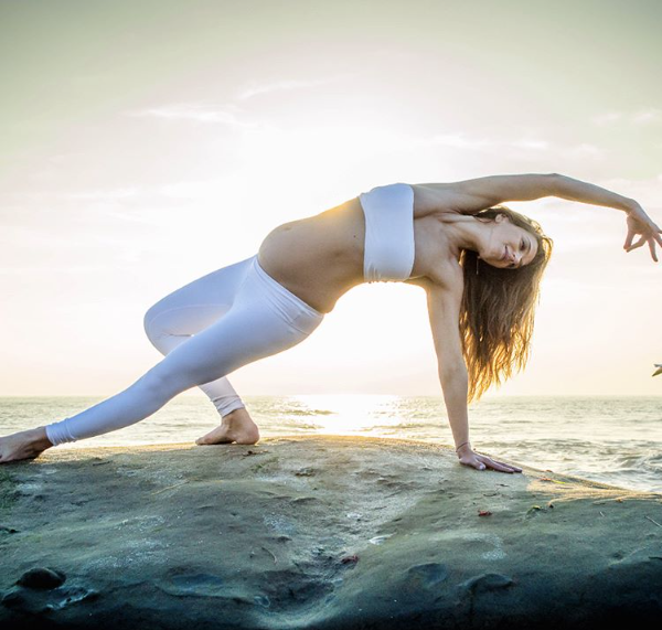 Magdalena Patterson prenatal yoga