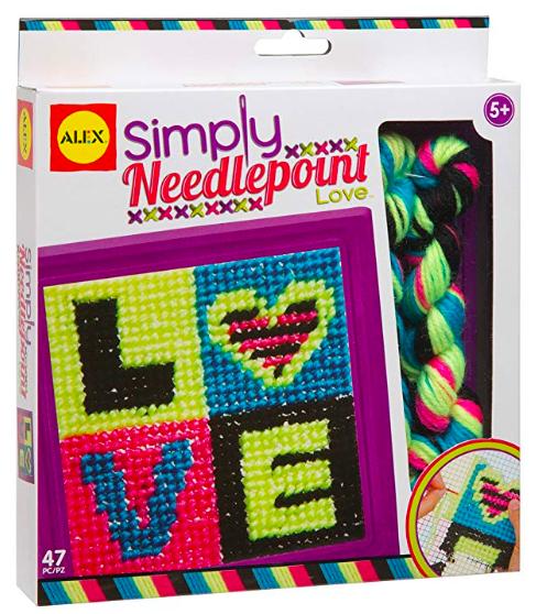 Needlepoint kit for kids
