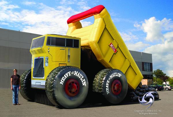 Car Sales Bounce Back From Sandy: Heavy Haulin' Dump Truck Slide