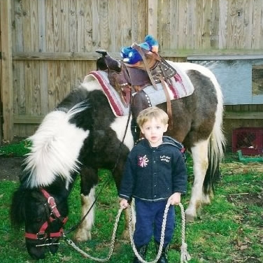 Matt and Cisco the pony