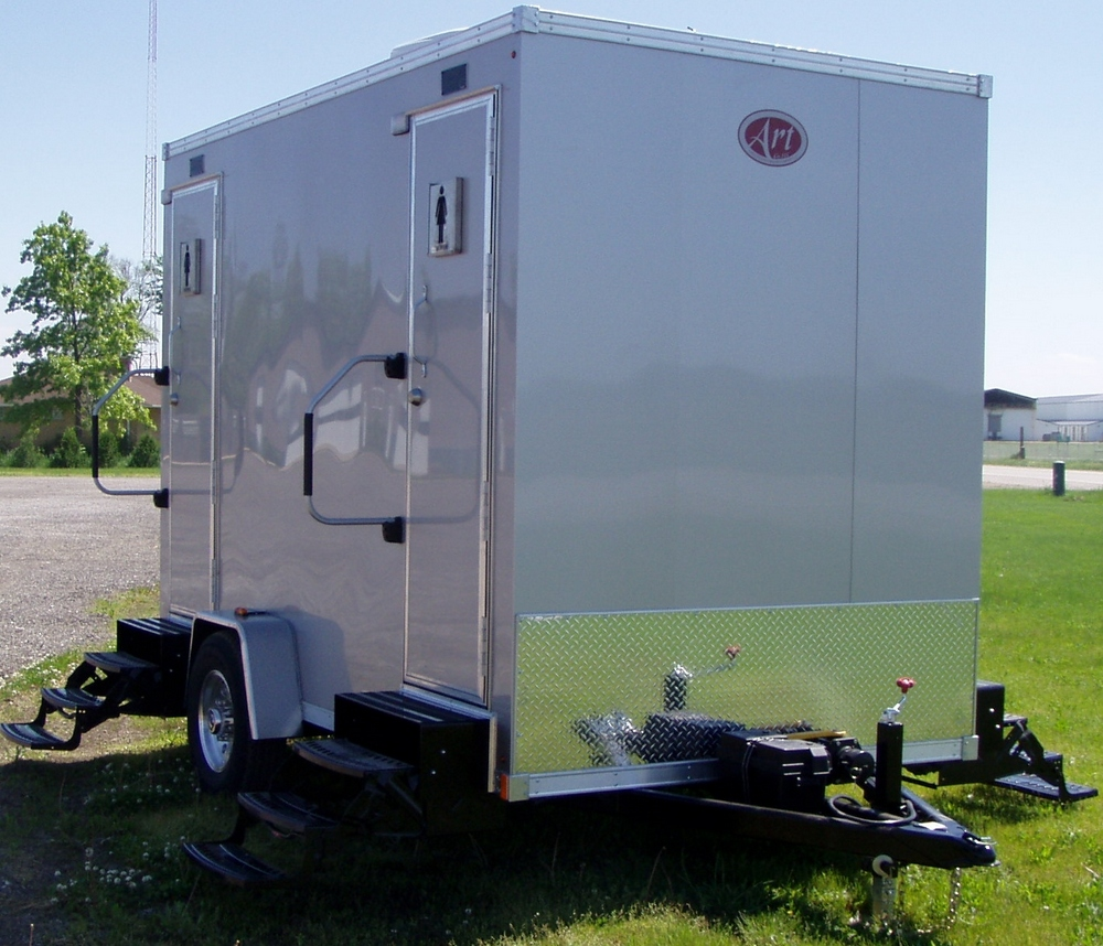 Mini Deluxe Portable Toilet Rental