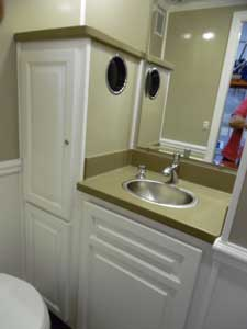 Sink and Vanity Area