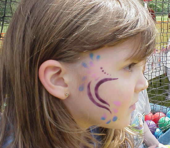Temporary Face Paint