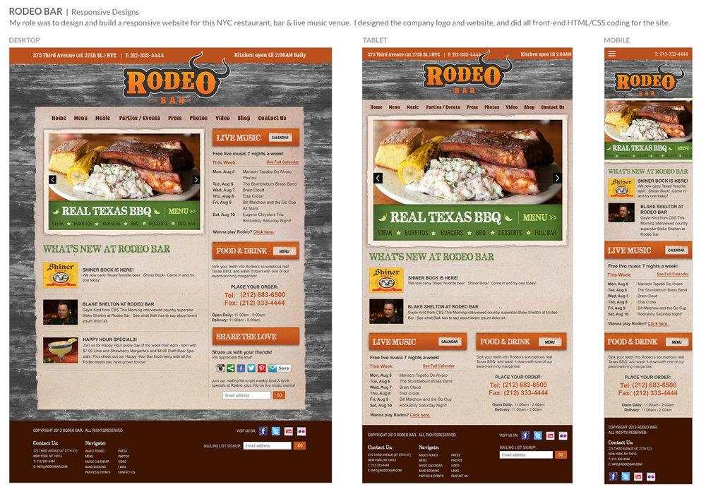 Rodeo Bar Restaurant