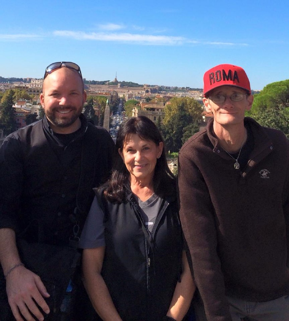 Thank you and love coming at you from Tree, Father Michael, and Tanya from Rome!