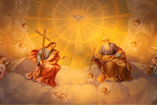 Glory to the Father, and to the Son, and to the Holy Spirit, now and ever and forever. Amen.