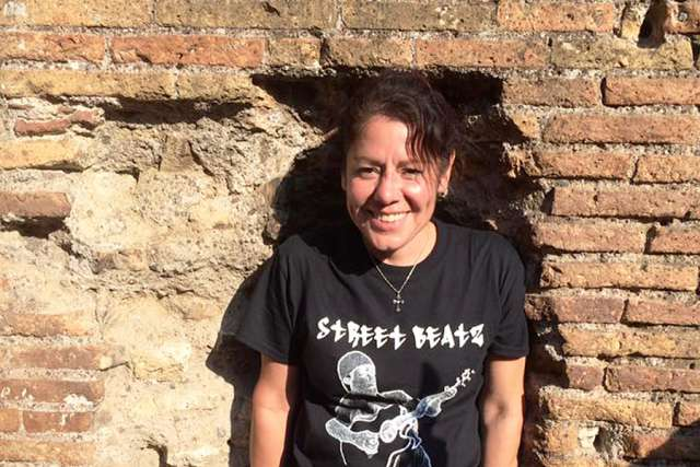 Melanie Medina in Rome. Courtesy of Melanie Medina.