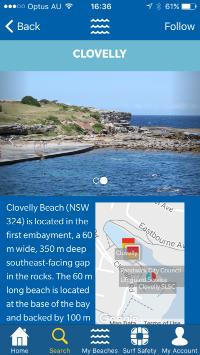 Beach Safe App