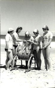 Bronze-training-1980-Jenny-Dennehy-Tanya-Franz-Marg-Bond-Kerryn-Briody-and-Sue-Collins
