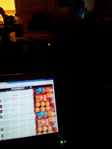Vintage live-tweeting, circa 2013