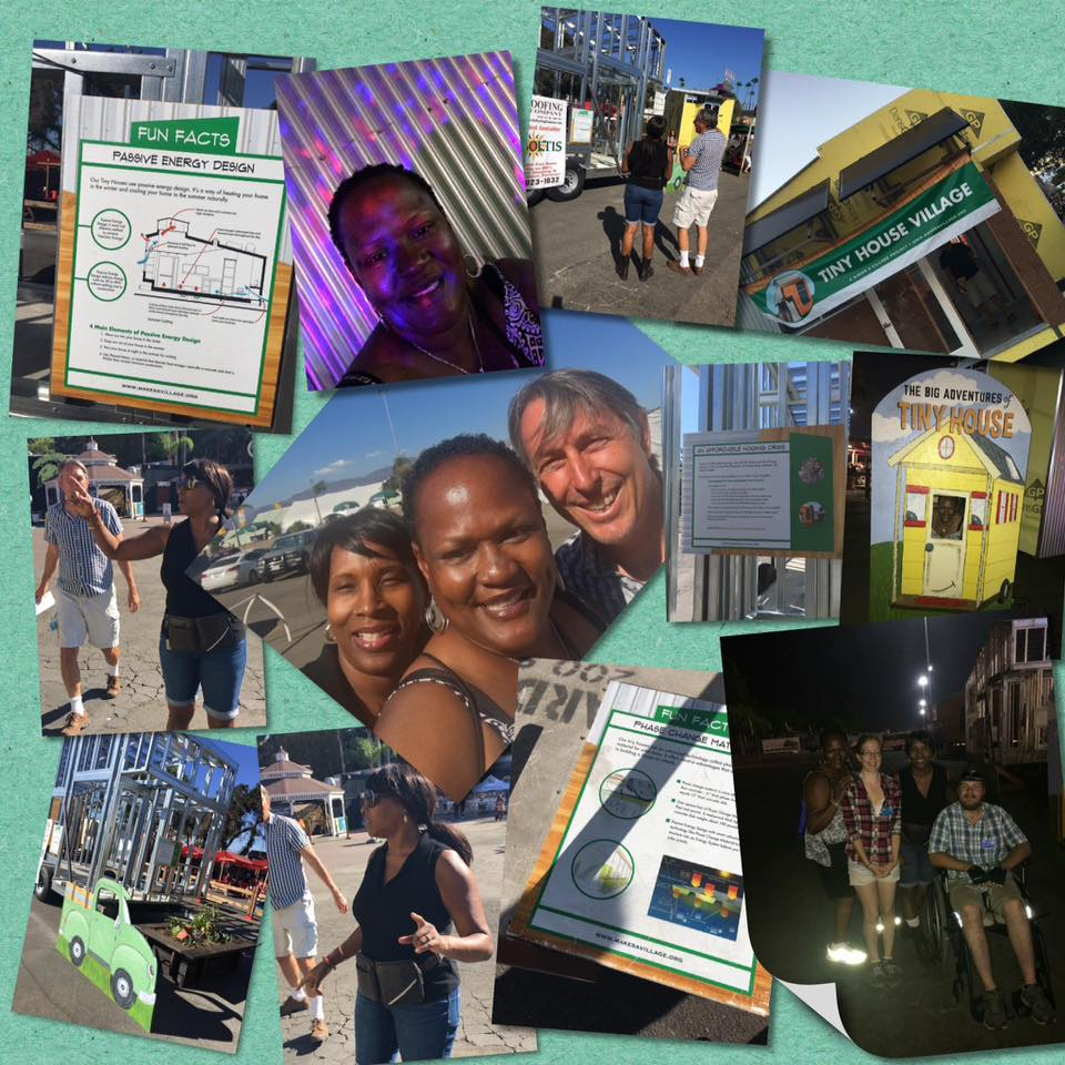 Image from Rosalyn Hisle & Laviona Lampkin, volunteers at the fair.