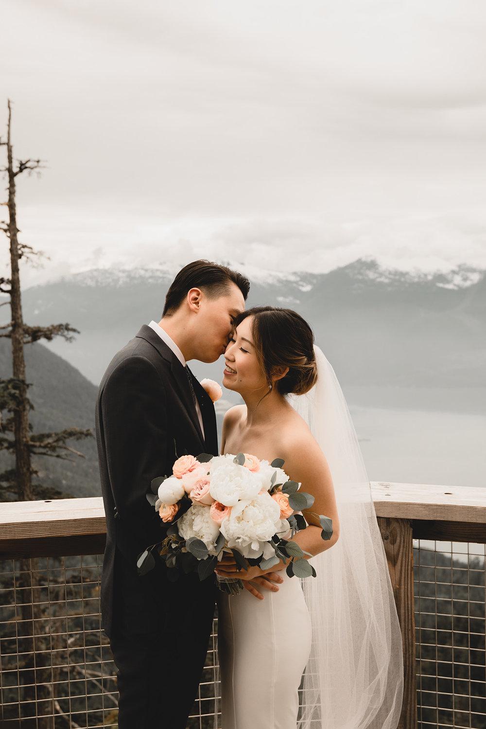 David + Esther - Squamish, BC Wedding Wedding Photography