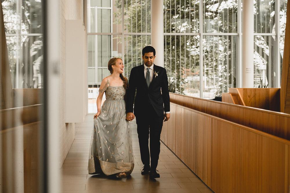 Robert H. Lee Alumni Centre Wedding