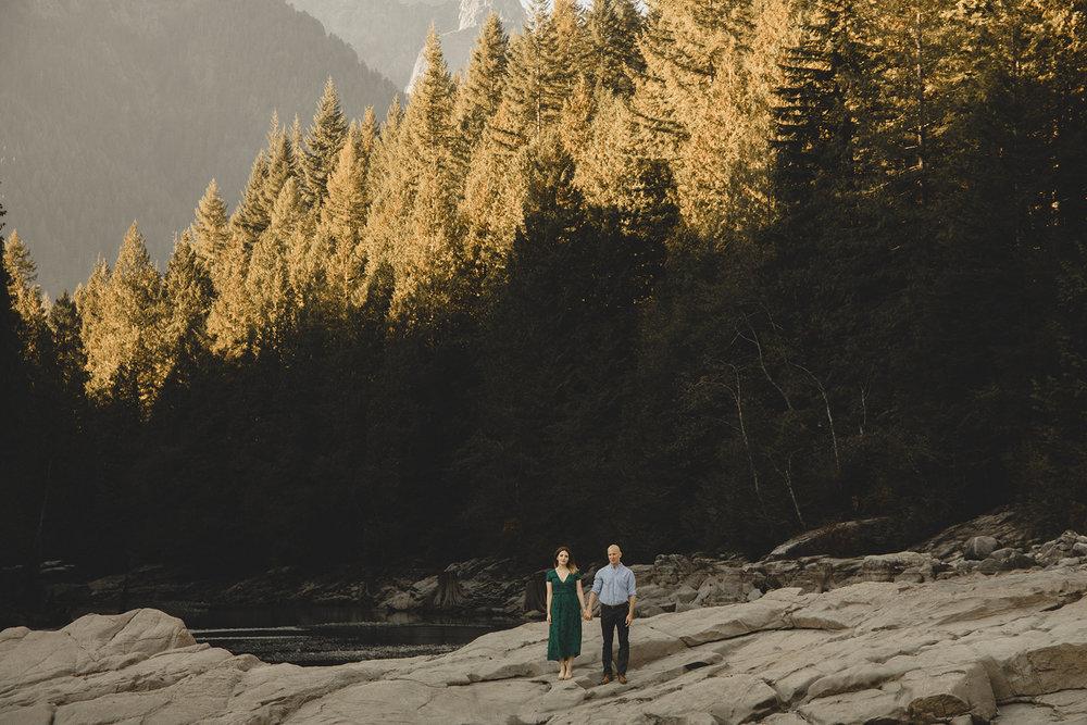Engagement Alouette Lake