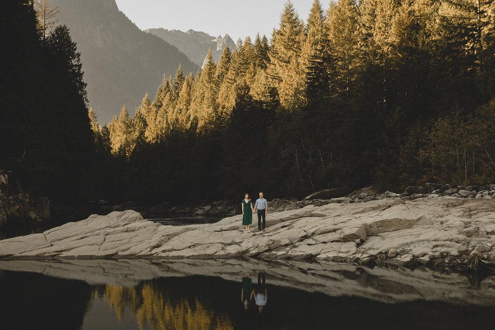 Ryan + Melissa - Alouette Lake Engagement, Golden Ears Provincial Park
