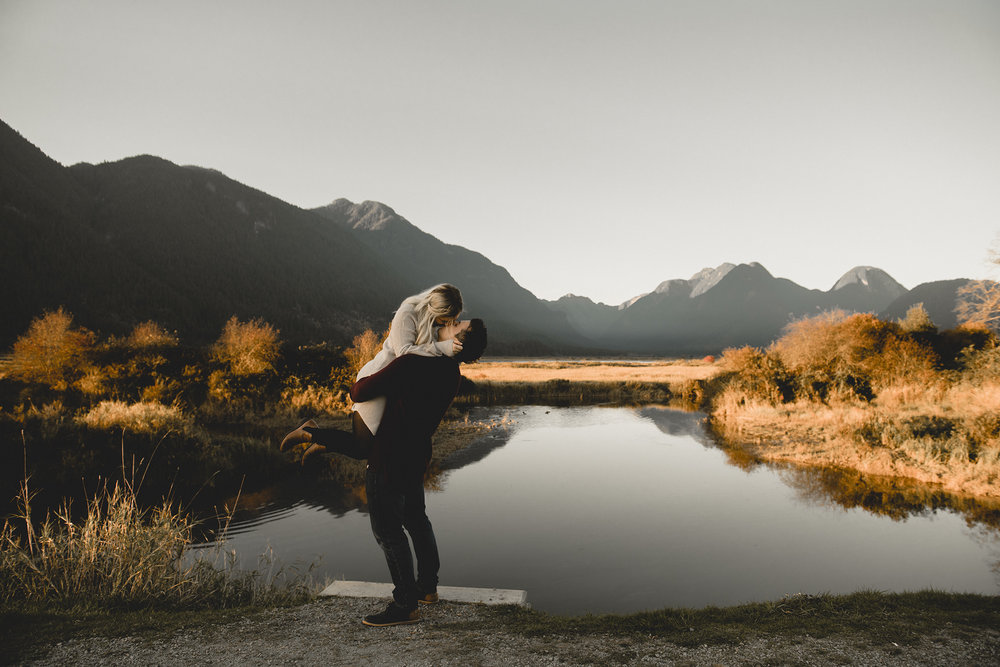 Andy + Emma - Pitt Meadows, BC Engagement