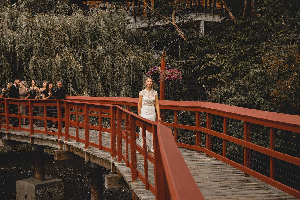 Brentwood Bay Restort Wedding
