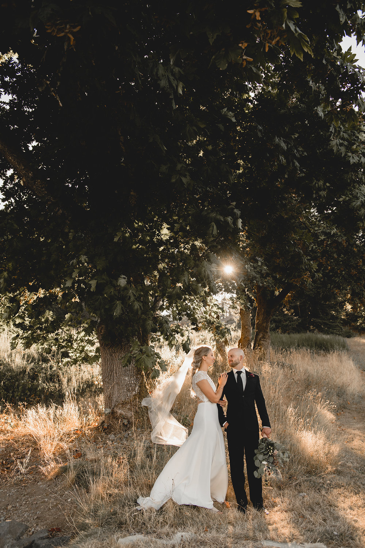 BC Winery Wedding
