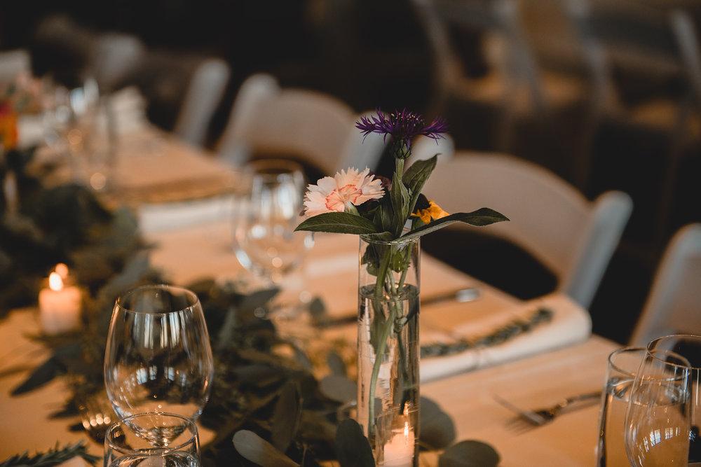 Winery Wedding Reception