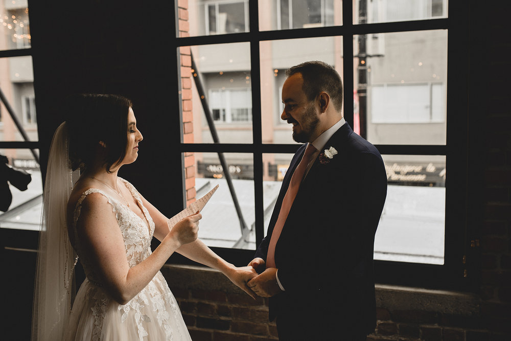 Loft at Earls Yaletown Wedding