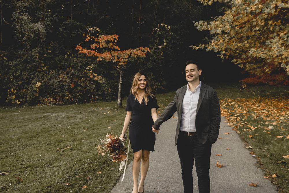 Stanley Park Vancouver Engagement
