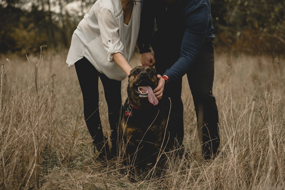 Elk Lake Engagement