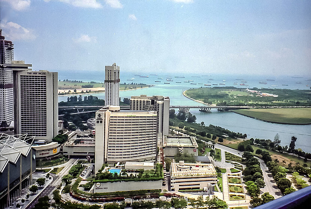 Singapore, 1996. Purple's first clients were the Marina Mandarin and Mandarin Hotels.